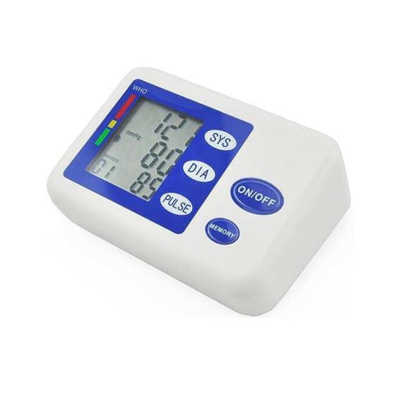 Tensiómetro electrónico de brazo Monitor Básico de Presión Arterial en el Brazo Superior, 01#: Amazon.es: Salud y cuidado personal