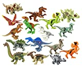 Action Figures Dinosaur Toys Dinosaur Blocks Playset Building Blocks-Great Gifts and Party Favors for Kids Adults (AB)
