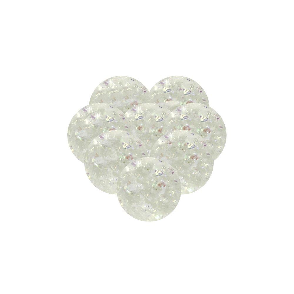 Unique Party 84727 - Jouets pour Pochette Cadeau - Balles Rebondissantes Iridescent - Paquet de 8