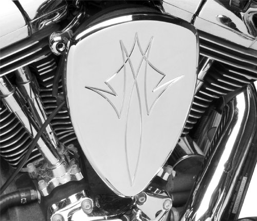 Baron Custom Accesories Pinstripe Chrome Big Air Kit for 1999-2007 Yamaha Road Star 1600/1700