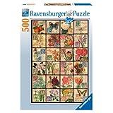 Ravensburger Vintage Flora - 500 pc Puzzle