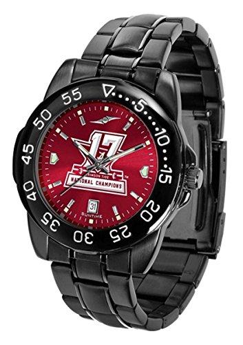 Sport Metal Anochrome Watch (Alabama 2017 National Champions Fantom Sport Anochrome Premium Mens Watch with gunmetal band (17 Time champions))