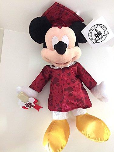Disney Parks Graduation Graduation 2015 Mickey Mouse Graduate Plush Doll 9 inch
