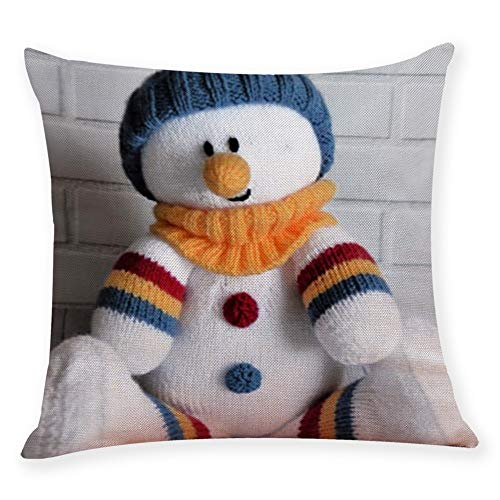 Newest Happy Christmas Ragdoll Pillow Case Cushion Cover