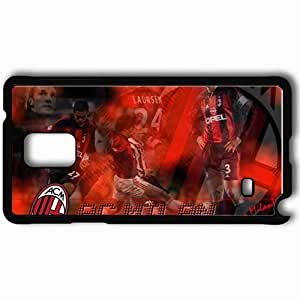 Personalized Samsung Note 4 Cell phone Case/Cover Skin AC Milan AC Milan Football Black