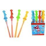 UNAKIM-46cm Plastic Kids Children Colorful Toys Bubble Giant Bubble Sword Wand