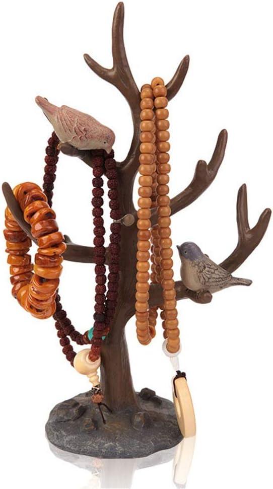 Sostenedor del pendiente del soporte de la joyería Collar De Perlas De Rack De Almacenamiento De Joyas Anillos De Joyería Pendientes Pulsera Relojes De Decoración Del Hogar Organizador de collar