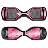 MightySkins Protective Vinyl Skin Decal for Swagtron T1 Hover Board Self Balancing Smart Scooter wrap cover sticker skins Pink Diamonds