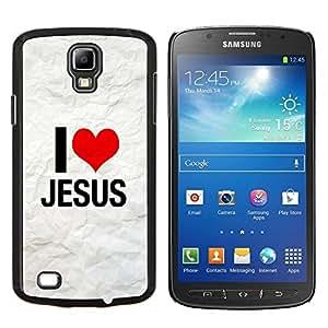 - My God OMG Jesus Christ Cross - - Cubierta del caso de impacto con el patr??n Art Designs FOR S4 Active I9295 (Do Not Fit S4) Queen Pattern