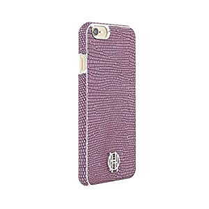 iPhone 6s Case, House of Harlow 1960 Pink Lizard, Silver Metallic Designer Cover fits Apple iPhone 6, iPhone 6s – Pink…