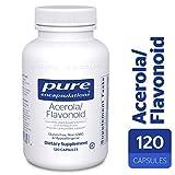 Pure Encapsulations - Acerola/Flavonoid - Vitamin C and Bioflavonoid Hypoallergenic Dietary Supplement - 120 Capsules