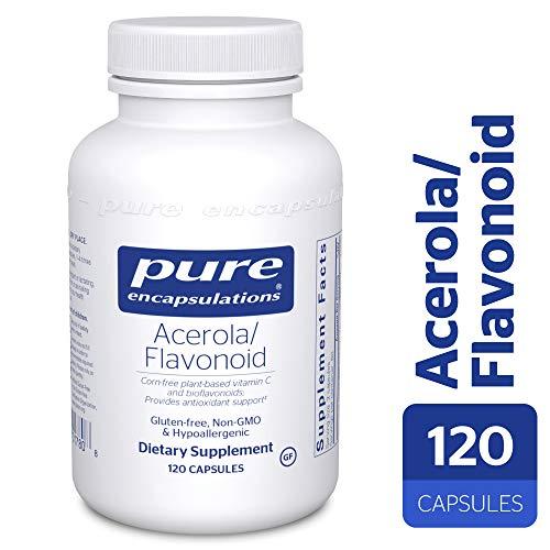 - Acerola/Flavonoid - Vitamin C and Bioflavonoid Hypoallergenic Dietary Supplement - 120 Capsules ()