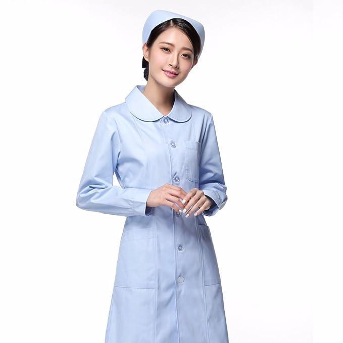 Xuanku Las Enfermeras Llevar Mangas Largas, Ropa De Médicos, Farmacias, Salones De Belleza