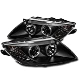 ZMAUTOPARTS BMW Z4 Sport Front Halo Projector Headlights Lamp Black Roadster M 2.5 3.0
