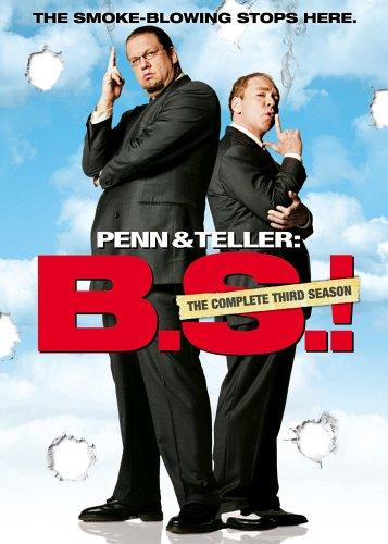 DVD : Penn & Teller Bullshit: The Complete Third Season (Full Frame, Dolby, Uncensored, 3 Disc, Sensormatic)