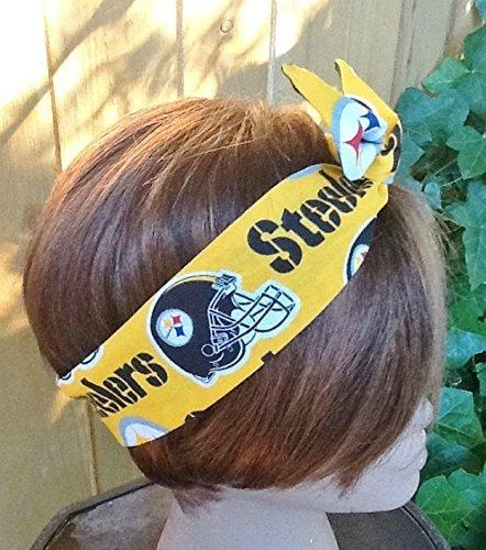 Pittsburgh Steelers Wired Headband Bandana