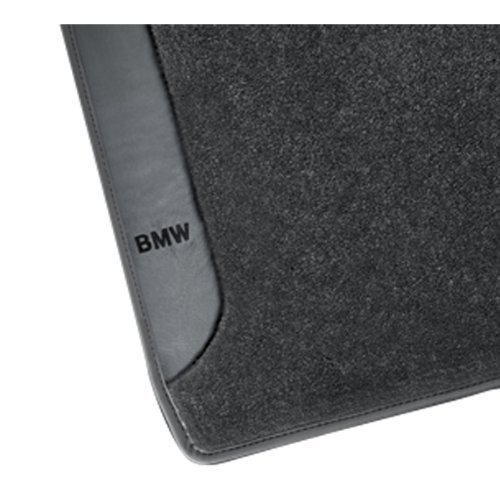 BMW Carpeted Floor Mats with BMW Lettering Gray - - 745i Sed