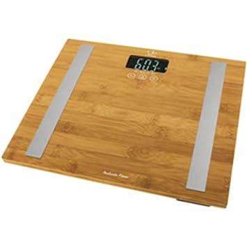 Bascula baño JATA hogar 557 analitz fitness bambu 577: Amazon.es: Salud y cuidado personal