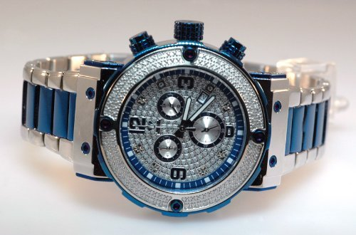 Aqua Master Mens Diamond Watch 0.20ct w-146 by Aqua Master