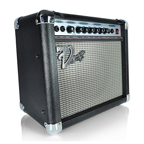 Pyle-Pro PVAMP60 60-Watt Vamp-Series Amplifier With 3-Band EQ, Overdrive, And Digital - 60w Guitar