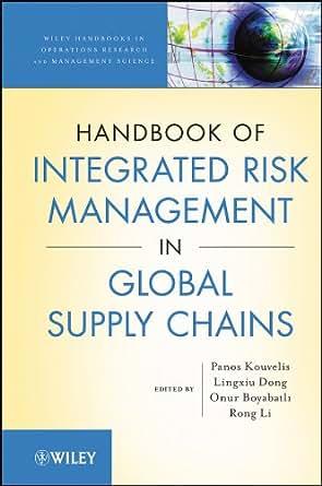 Amazon.com: Handbook of Integrated Risk Management in