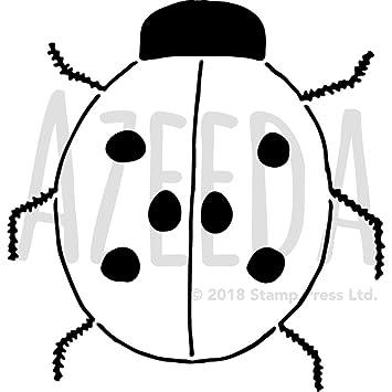 Azeeda A4 \'Ladybird\' Wall Stencil / Template (WS00000185): Amazon.co ...