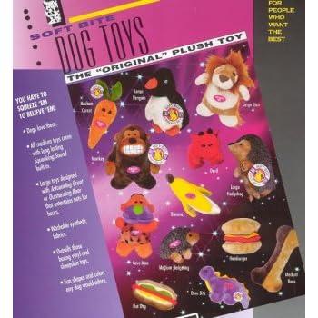 Pet Supplies : Pet Squeak Toys : Booda Soft Bite Dog Toys