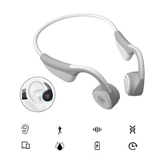 Inalámbrico Bluetooth Estéreo Música Deporte conducción ósea Auriculares Auriculares con micrófono