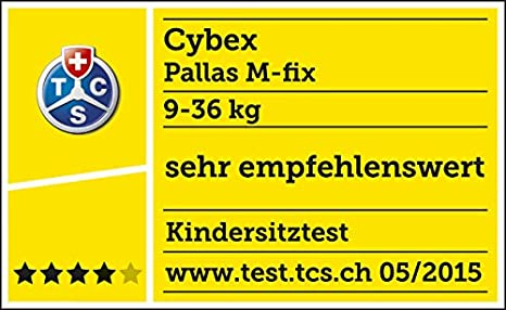 Cybex Pallas M-Fix, Silla de coche grupo 1/2/3 Isofix, Autumn Gold