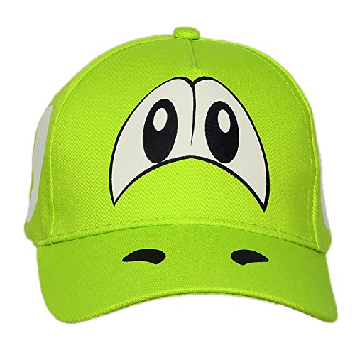 XCOSER Yoshi Hat Baseball Snapback Cap Costume Accessories