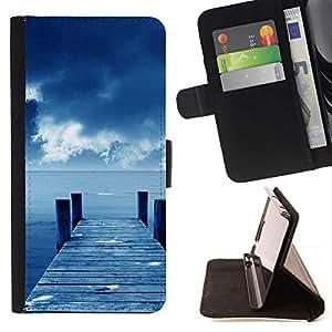 Momo Phone Case / Flip Funda de Cuero Case Cover - Naturaleza Hermosa Forrest Verde 160 - LG G4c Curve H522Y (G4 MINI), NOT FOR LG G4