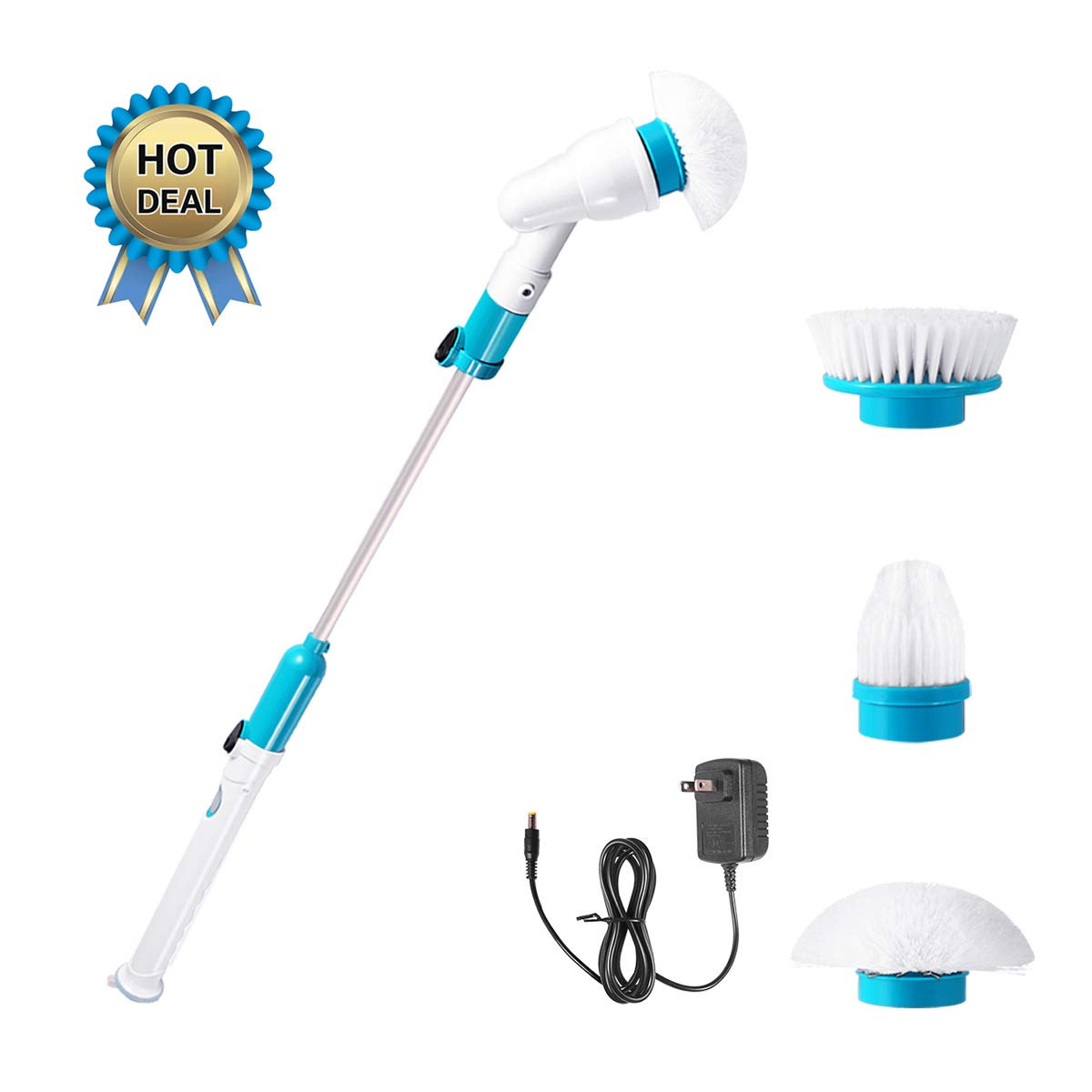 Spin Scrubber, 360 Cordless Tub and Tile Scrubber,