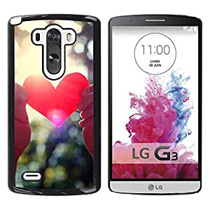 Stuss Case / Funda Carcasa protectora - Love Through Sunlight Rays - LG G3