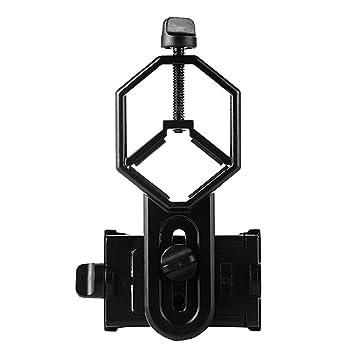 Gazechimp Telescopio del Teléfono del Clip Soporte Microscopio Accesorios para Moviles Electronico de Metal