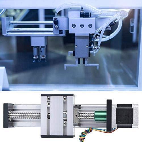 LZP-PP Linearführungsschiene, 500mm Hub Einwellen Kugelgewindelinearführungsschiene CNC Schiebetisch mit 42 Motor (1605)