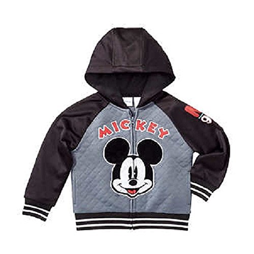 Character Kids' Full Zip Hoodie (Mickey Mouse, 4T)