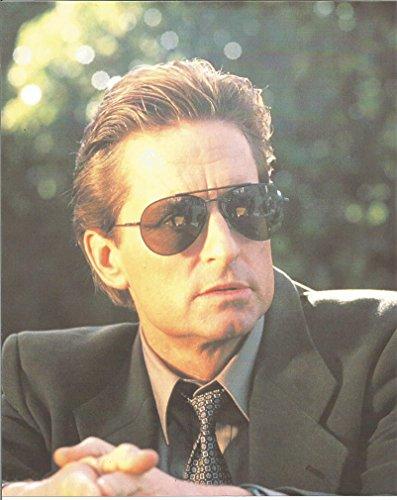 Michael Douglas in sunglasses & suit - 8 x 10 Photo - Douglas Michael Glasses