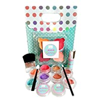 Young Girls Makeup Kit - All Natural, Certified Organic Kids Makeup Set