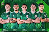 Trends International Mexico National Soccer Team Wall Poster, 22.375'' x 34'', Multi