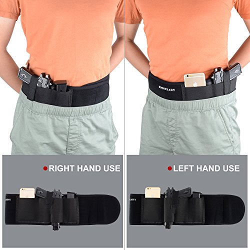 Belly Band Holster for Concealed Carry Neoprene Waist Band H