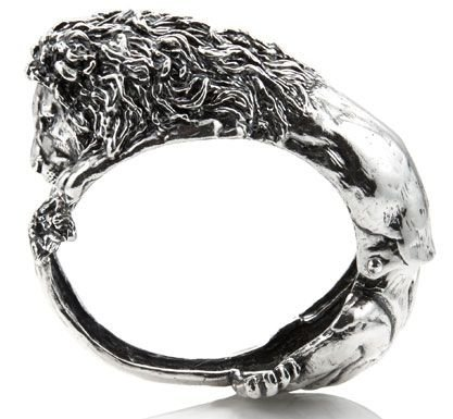 Bracelet jonc Lion