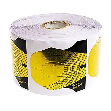 Guías - moldes- uñas de gel / acrílicas - 100 unidades. Exact Nail Form