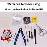 DIY Building Kit Home DIY Tool Set Building Bag,15
