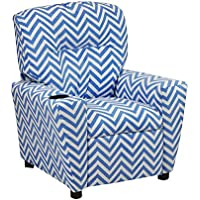 Kidz World Ziggi Chevron Kids Recliner