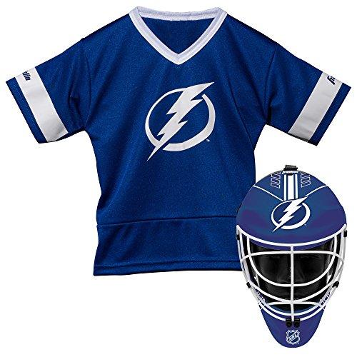 Franklin Sports NHL Tampa Bay Lightning Youth Team Uniform Set, Blue, One (Tampa Bay Lightning Ice Hockey)