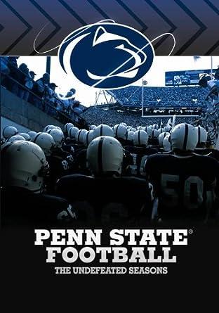 Amazon Com Penn State Football Undefeated Seasons Penn State
