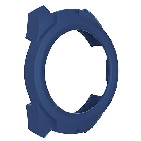 Trendyest Uhrengehäuse Hülle Silikon Schutzhülle Cover Armband Shell Protector für Ticwatch Pro