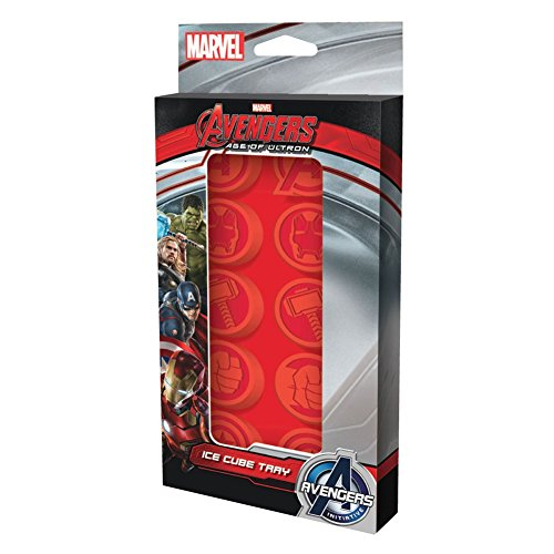 ICUP Marvel Age of Ultron Ice Cube Tray, Clear (Ice Marvel compare prices)