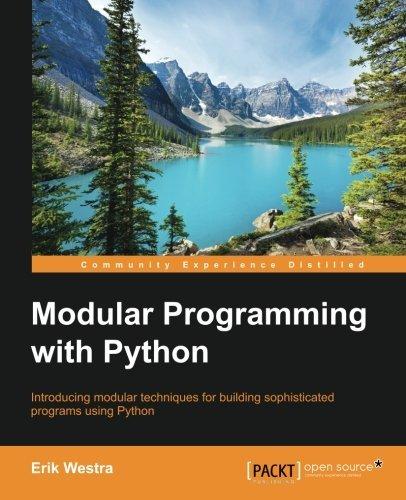 Modular Programming with Python