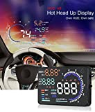 "Best Heads Up Displays - YICOTA 5.5"" Original High Definition Car HUD Head-Up Review"